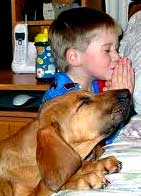 boy-dog-prayer