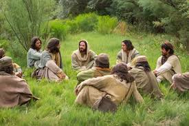 jesus teaches disciples